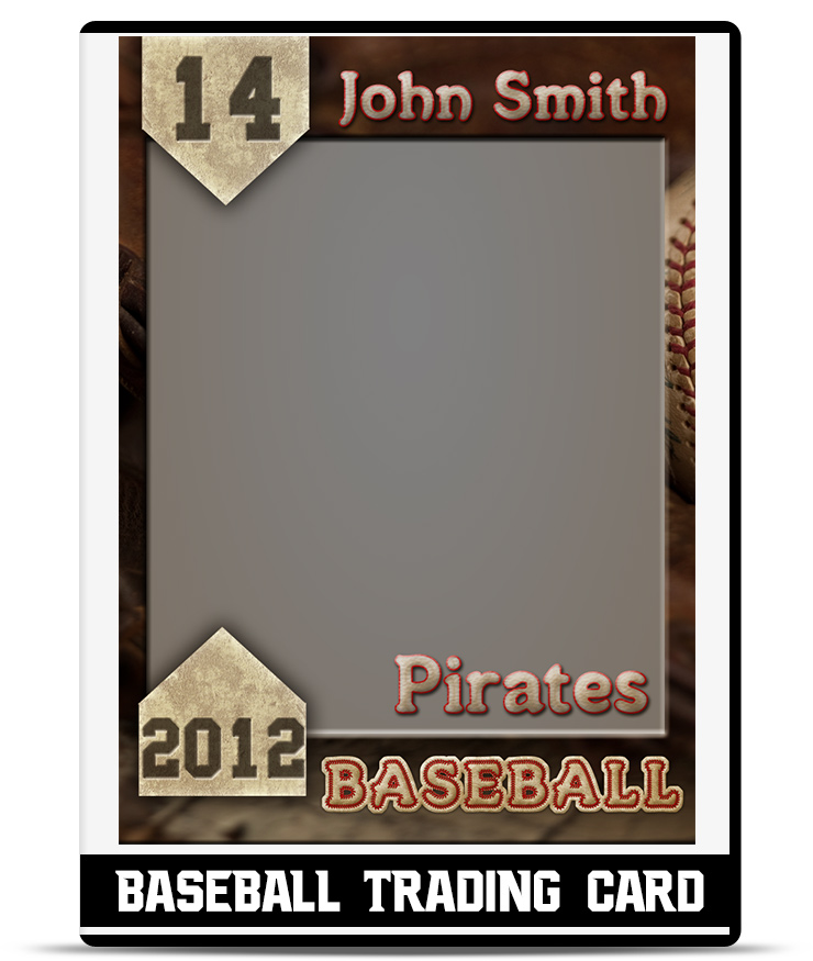 Baseball  Trading Card Template  Teamtemplates